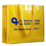 Promotional Shopping Cmyk Laminated PP Woven Tote Bag