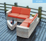 Synthetic Rattan Aluminum Frame Outdoor Garden Furniture