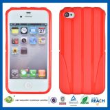 C&T Popular Red TPU Case for iPhone 4
