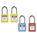 Safety Padlock ABS Body Steel Shackle Kd/Mk/Kaosha-Pl01d