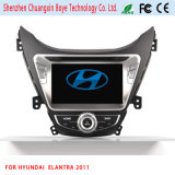 GPS Navigation HD 2 DIN Stereo Car DVD Player for Elantra 2011