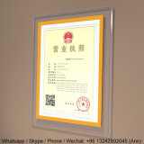A3 New Style Acrylic Business License Frame, Photo Frame