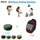 CE Approved 433.92MHz Paging System for Restaurant Hotel Services