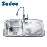 """Kitchen Sink, 3-1/2"""" Drain Opening Sink"""