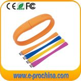 Colorful PVC Wrist Bracelet USB Flash Drive