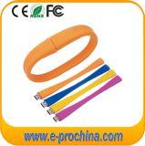 Colorful PVC Wrist Bracelet USB Flash Drive