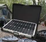 80W Folding Solar Panel for Charging Car Battery