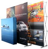 Hot Selling Portable Fabric Pop up display Stand