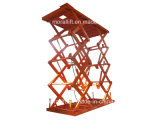 Scissor Type Hydraulic Large Capacity Lift Car Lift with CE