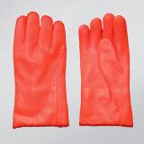 Fluorescent Orange PVC Work Glove (5123)
