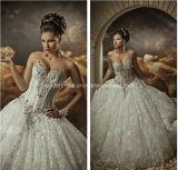 Sweetheart Lace Bridal Ball Gowns Arabic Dubai Wedding Dresses Z5049