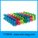 Push-Pin Magnets Perfect for Home & Office Powerpins X 50
