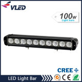 "17"" 8000lm SUV/Truck/Offroad CREE Single Row LED Light Bar 100W"