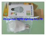 Yaye Hot Sell Warranty 2 Years E14/E27/GU10/B22 SMD5730 3W LED Bulb with USD2.08/PC (YAYE-GDLB3WA)