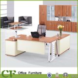 Corner Computer Desk, Executive Computer Table Sandal Wood Color (CD-89910)
