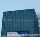 Commercial Building Art Decoration PVDF Aluminum Curtain Wall