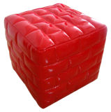 Children Leather Ottoman Stool Chair/Home Kids Furniture (SF-57)