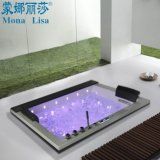 Monalisa Drop-in Whirlpool Massage Acrylic Fiberglass Bathtub (M-2050)