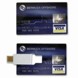 Both Full Color Credit Cards USB Disk Security