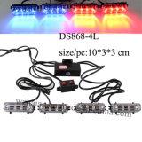 B/R LED Police Warning Grille Lights (DS868-4B-2B2R)