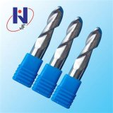 Aluminum Used Carbide Cutter Ball Nose End Mill Tools