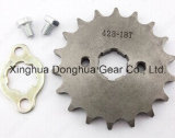Motorcycle 428 18 Tooth 20mm ID Front Engine 18t Sprocket Chain Roller Wheel