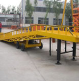 15t Mobile Electric Hydraulic Container Loading Ramp