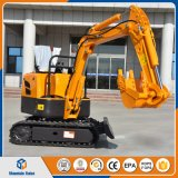 Ce Approved 800kg Mini Excavator Digging Machine for Sale