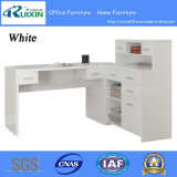 L Shaped Corner Home Office Desk with Hutch (Z160707-3F)
