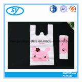 Customized Plastic T-Shirt Bags Retail Shopping Bags