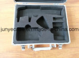 Aluminum Alloy Tool Box with Cut-out Foam and Bag