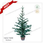 H90-125cm 100% PE Plastic Artificial Christmas Tree Christmas Decoration