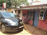 Electric Vehicle Charging Station for Chademo Car