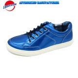 New design Mirror PU for Man′s Casual Shoes