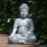Outdoor Decoration Resin Sitting Life Size Buddha