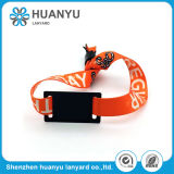 Promotional Magnetic Woven Sports Fabric Wristband
