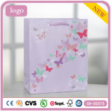 Butterfly Pink Children Clothing Shoes Toy Gift Paper Bags