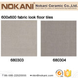 600X600 Matt Fabric Look Floor Tile Porcelain Tile for Construction