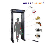 Coin Detect 255 Level VIP Room Door Frame Metal Detector 6 Zones Foldable Metal Detector