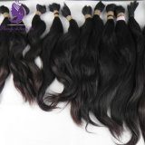 Unprocessed Natural Color Natural Wavy Virgin Human Hair Bulk