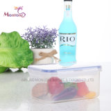 2.2L Airtight Microwave Freezer Safe BPA Free Food Container 21*14.5*11cm