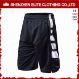 Wholesale Latest Fashion Black and White Soccer Shorts (ELTSSI-15)