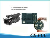 7 Inch LCD Director Monitor with Sdi, HDMI, YPbPr Input