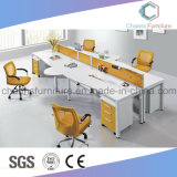 Modern Furniture Four Persons Computer Table Office Desk Workstation