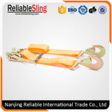 Truck Trailer Polyester Cargo Lashing Belts with Ratchet