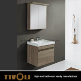 Wood Small Bathroom Vanities with Shaving Cabinets and Mirror Tivo-0008vh