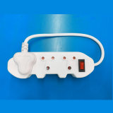 Hotsale 3 Outlets Power Strip for Africa