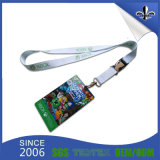 Factory Wholesale Custom Polyester ID PVC Card Holder Lanyards