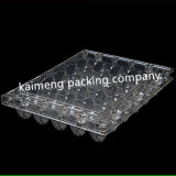 Free Samples China Clear Pet Plastic Trays Package for 30cells Quail Eggs (plastic trays package)