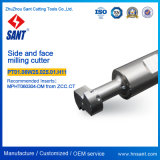 CNC Machine Tool Indexable Side and Face Milling Cutter PT01.06W25.025.01. H11/Tmp01-025-XP25-MP06-01 for Insert Mpht